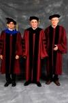 De izquierda a derecha: Mauricio Tenorio, Director de CLAS; Robert Zimmer, Presidente de la Universidad de Chicago, y Jean Meyer, Profesor Investigador del CIDE
